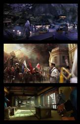 Assassin's Creed TLMC: Key Frames by KangJason