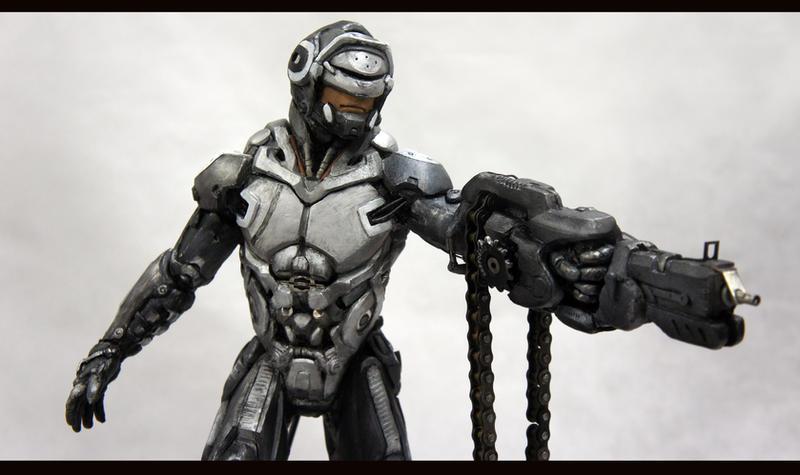 RoboCop Redesigned: Maquette by KangJason