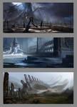 Burial Planet Environments
