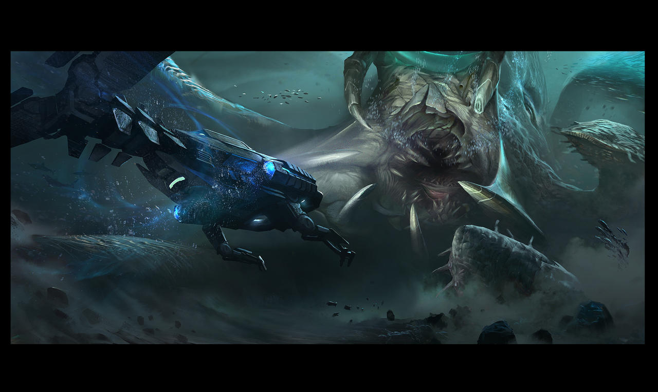 The Kraken by KangJason on DeviantArt