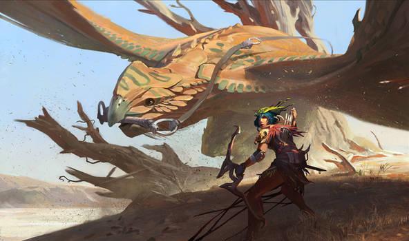 The Big Game Huntress by KangJason