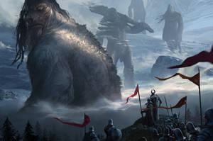 Mountain Giants by KangJason