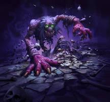 Ghoul - Hearthstone: Curse of Naxxramas by KangJason