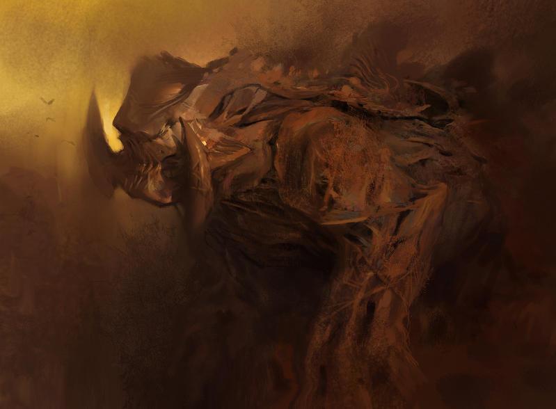 Goliath Sketch by KangJason