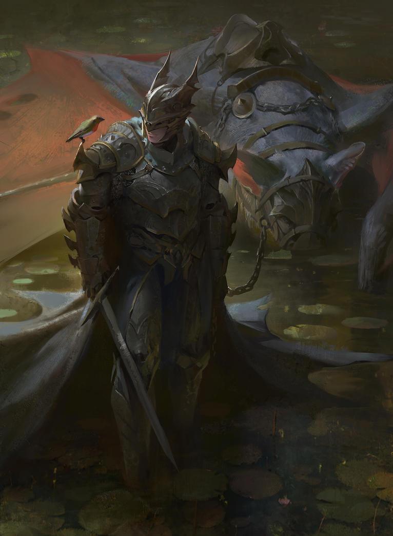 The Dark Knight by KangJason