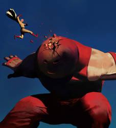 Saitama vs Juggernaut