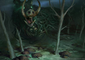 MTG: Kessig Dire Swine by KangJason