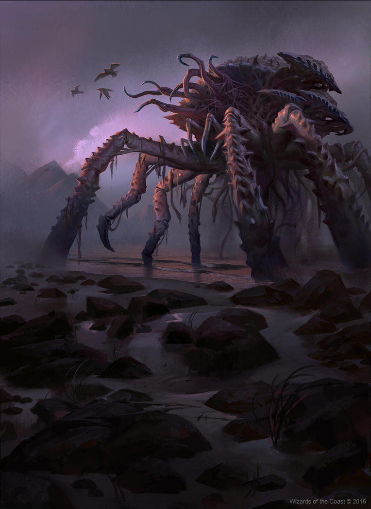 MTG: Drownyard Behemoth by KangJason