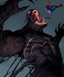 Venom and Spiderman!