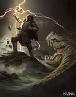 Rune: Ragnarok - Thor by KangJason