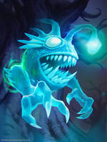Hearthstone: Ghostlight Angler by KangJason