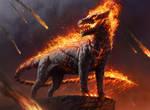 MTG: Akoum Hellhound
