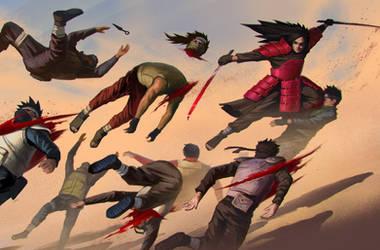 Madara vs The Shinobi Alliance