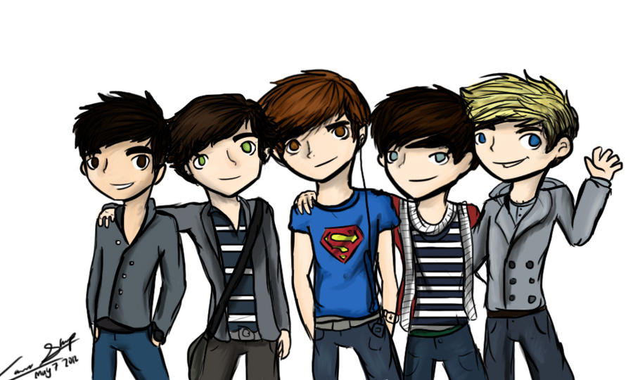 Boys  One Direction by awildsharpieappeared on DeviantArt