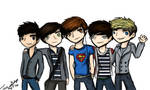 5 Boys, One Direction