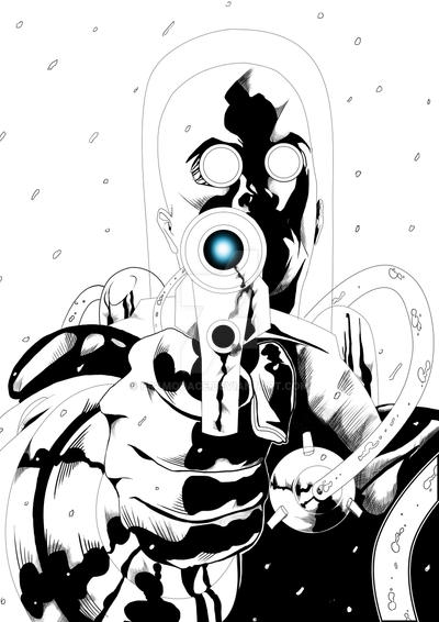 Mr freeze Dc style by Pramodace