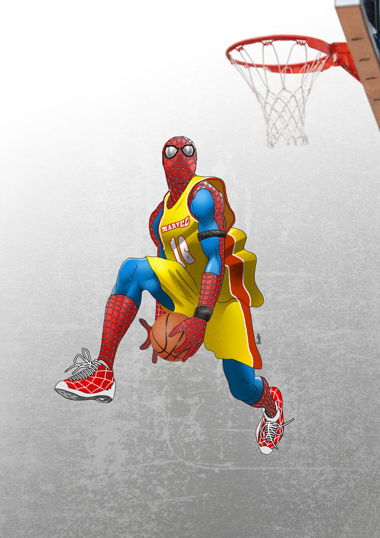 Air Spidey!! by Pramodace