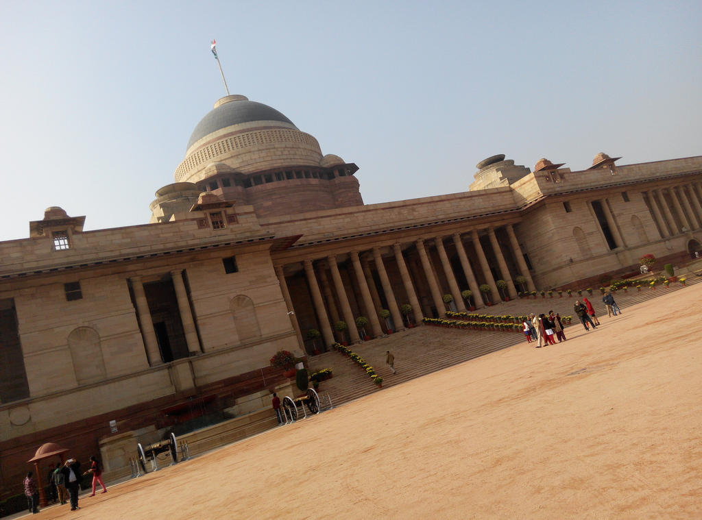 Rastrapathi Bhavan - Presidential Palace India by Pramodace