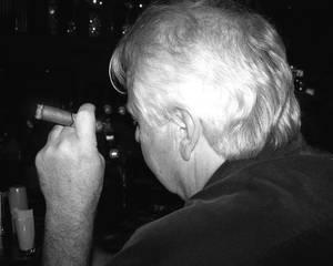 smoking dad