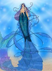 Mermaid by evui