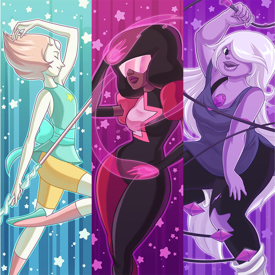 We are the Crystal Gems! by evui