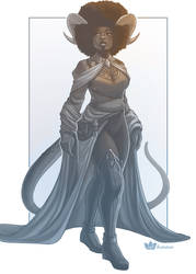 Afro Tiefling