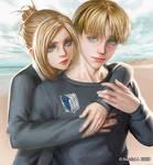 AOT - Armin Annie Fanart