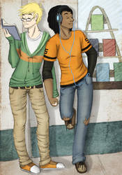 Static Shock- Comic Run by Jessiphia