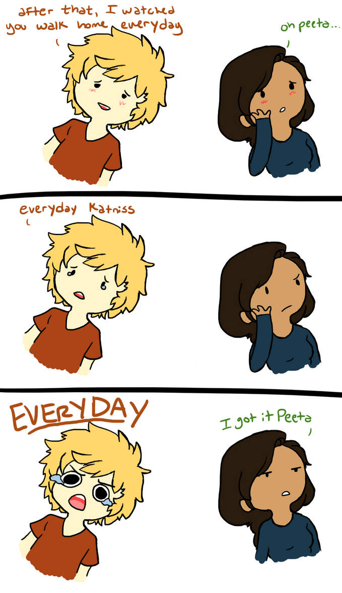 THG- EVERYDAY by Jessiphia