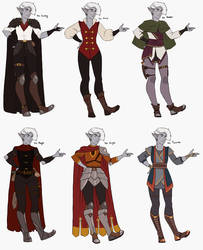 DnD - Aristide's Outfits