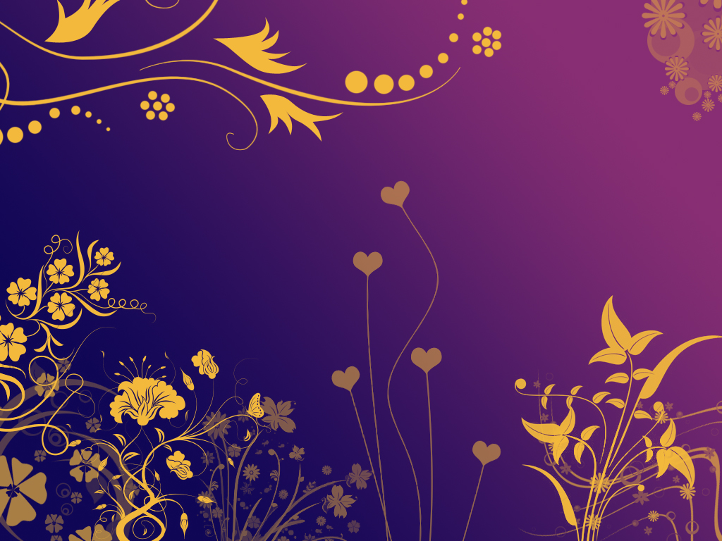 Yellow flowers in purple night by daemonika on deviantart for Purple and yellow painting