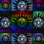 Pride Pentagrams [Now Available On Redbubble]