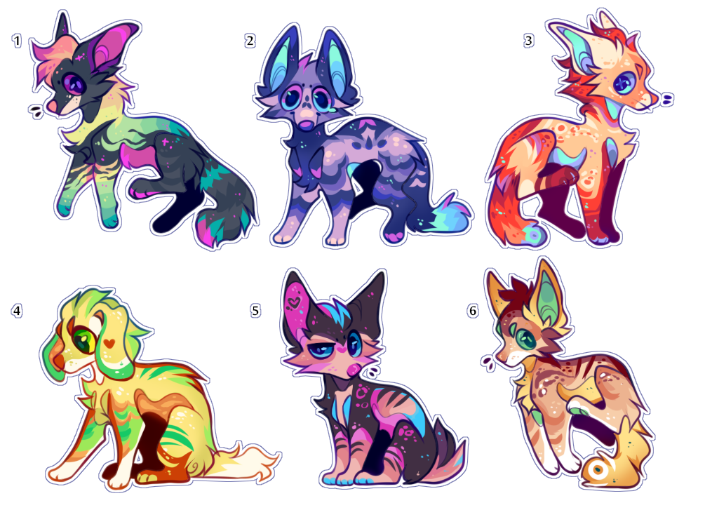Mini doggo batch   OPEN   NOW ACCEPTING PAYPAL