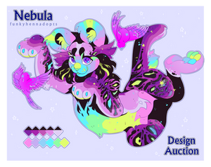Nebula | Feral Adopt Auction | COLLAB | CLOSED