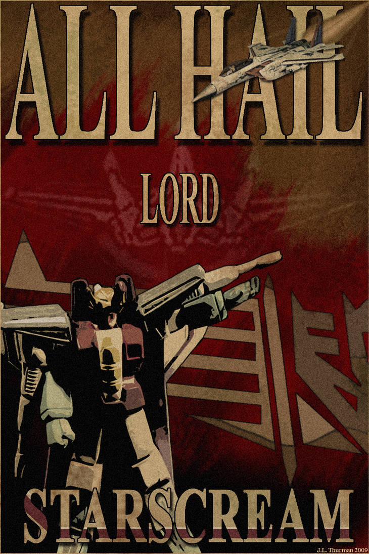 ALL HAIL LORD STARSCREAM