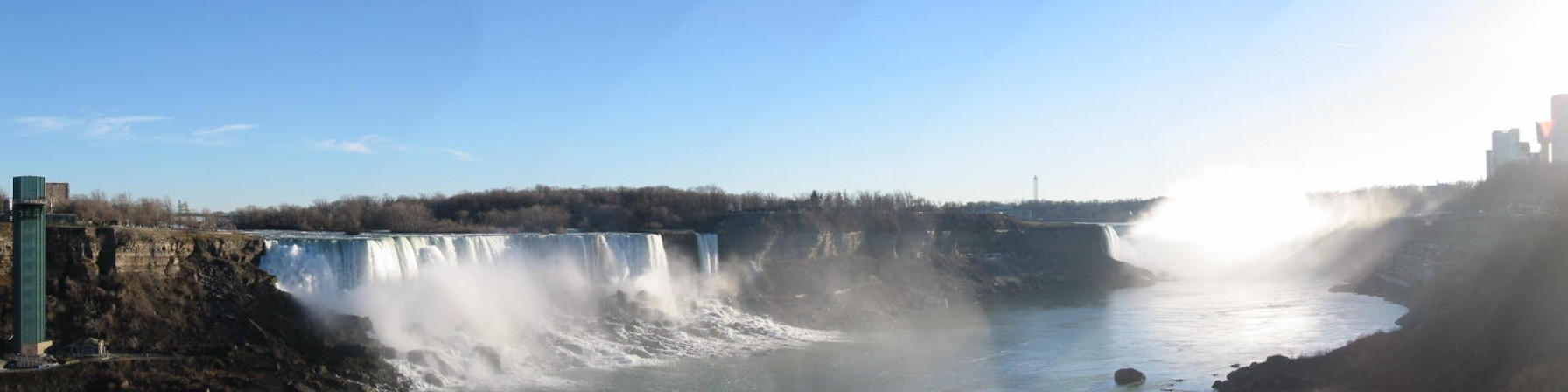 Niagara falls panoramic view by Sunstars