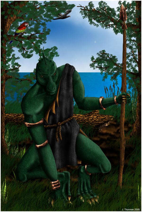SoV: Guana hunter-warrior by Sunstars
