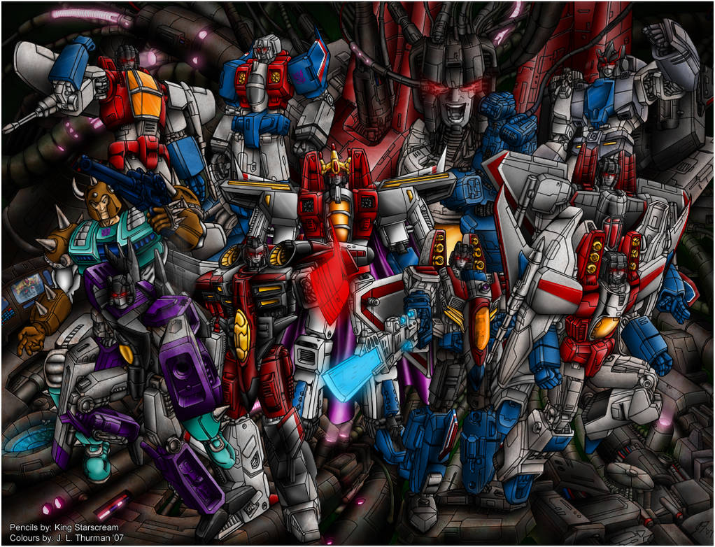 20 years of Starscream colours