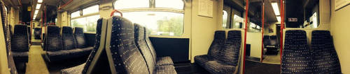 On the Train (Panorama) by LastMimzy101