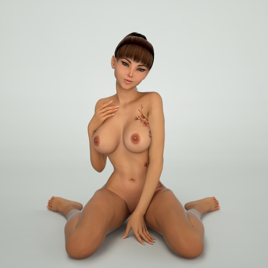 Aiko 6 IRAY Render by 3dmania