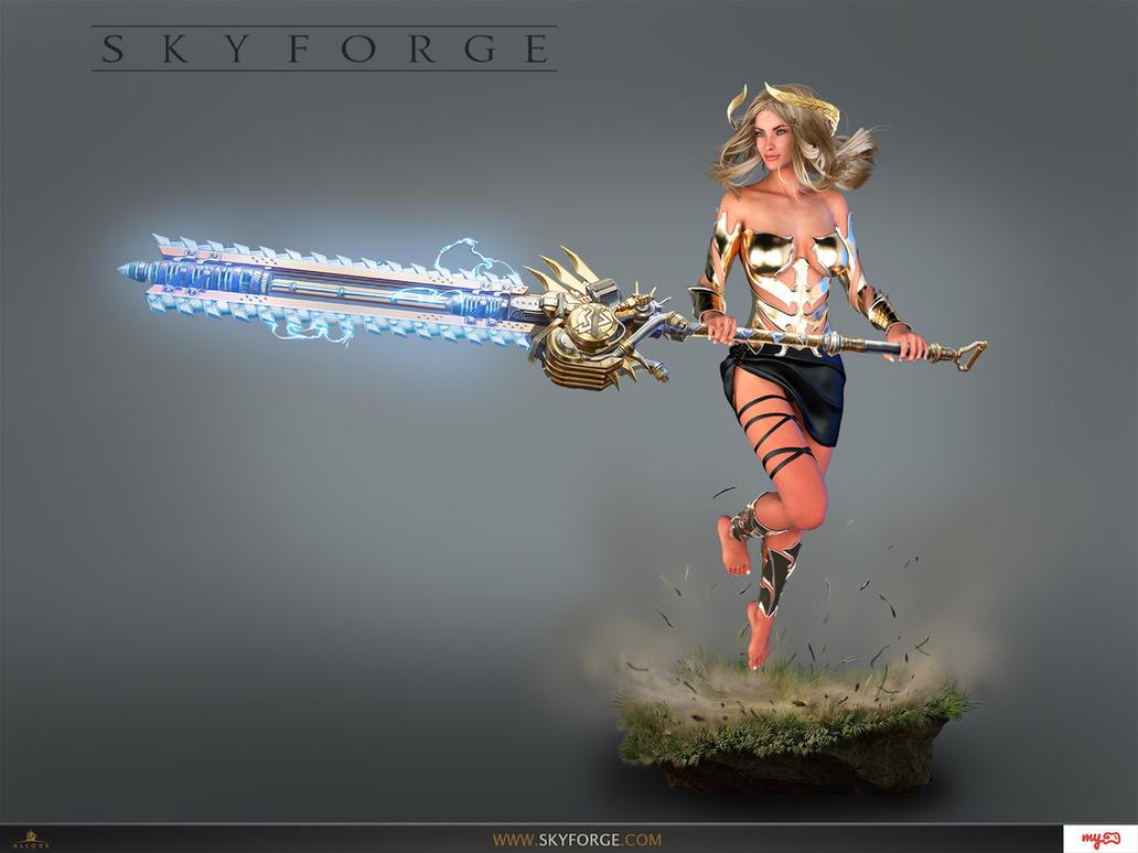 Skyforge Beserker by 3dmania