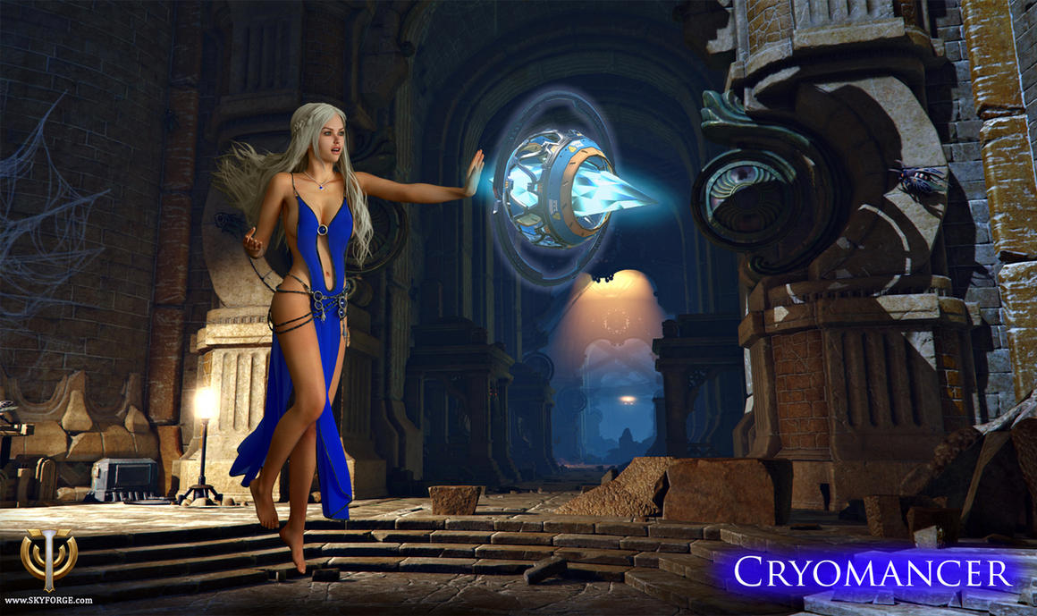 Skyforge Cryomancer by 3dmania