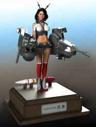 Battleship MU TSU by 3dmania