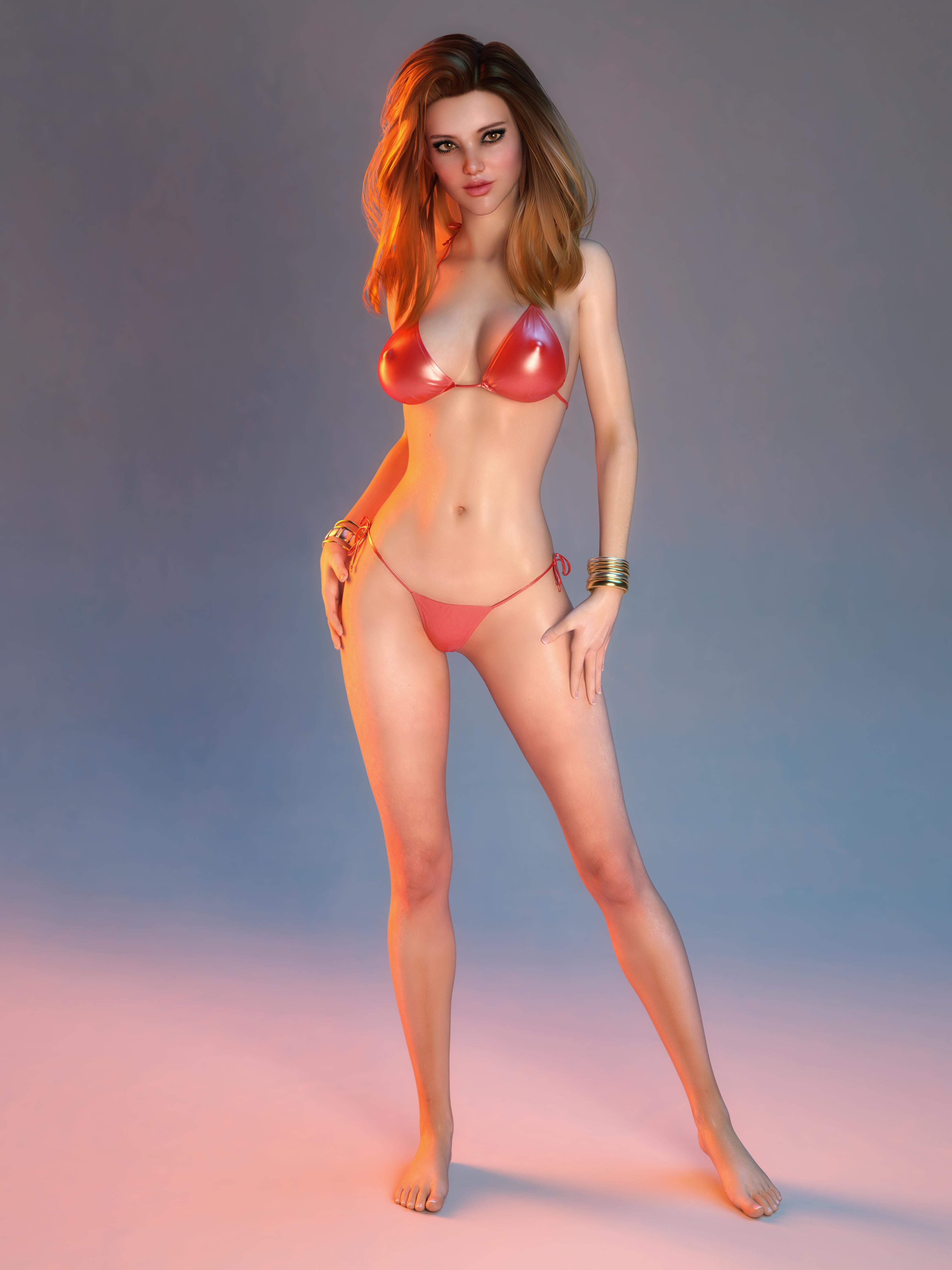 digital babe erotic art