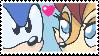 Sonic Sally stamp