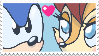 Sonic Sally stamp by DonkeyInTheMiddle