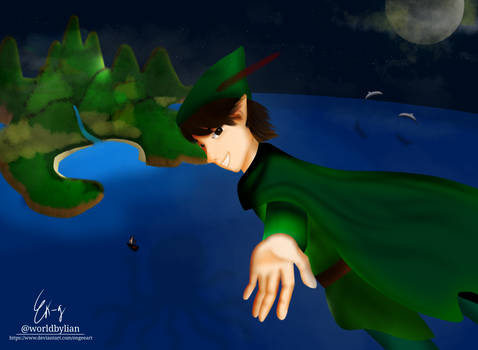 Peterpan and Neverland