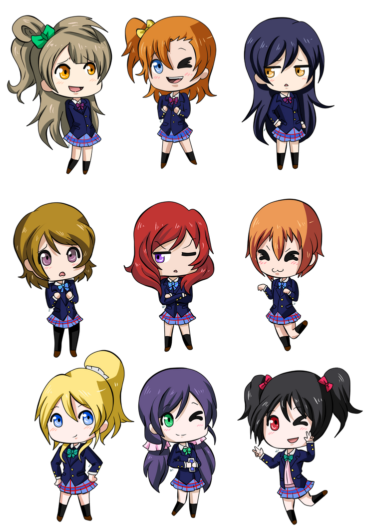 Love Live! by Zaphirosa