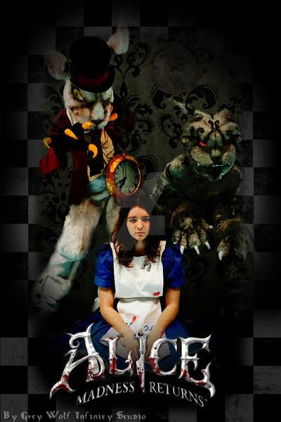 Alice Madness Cosplay Poster by OCFF7BCCCACZFD