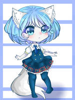wolfychu by cherasusamma